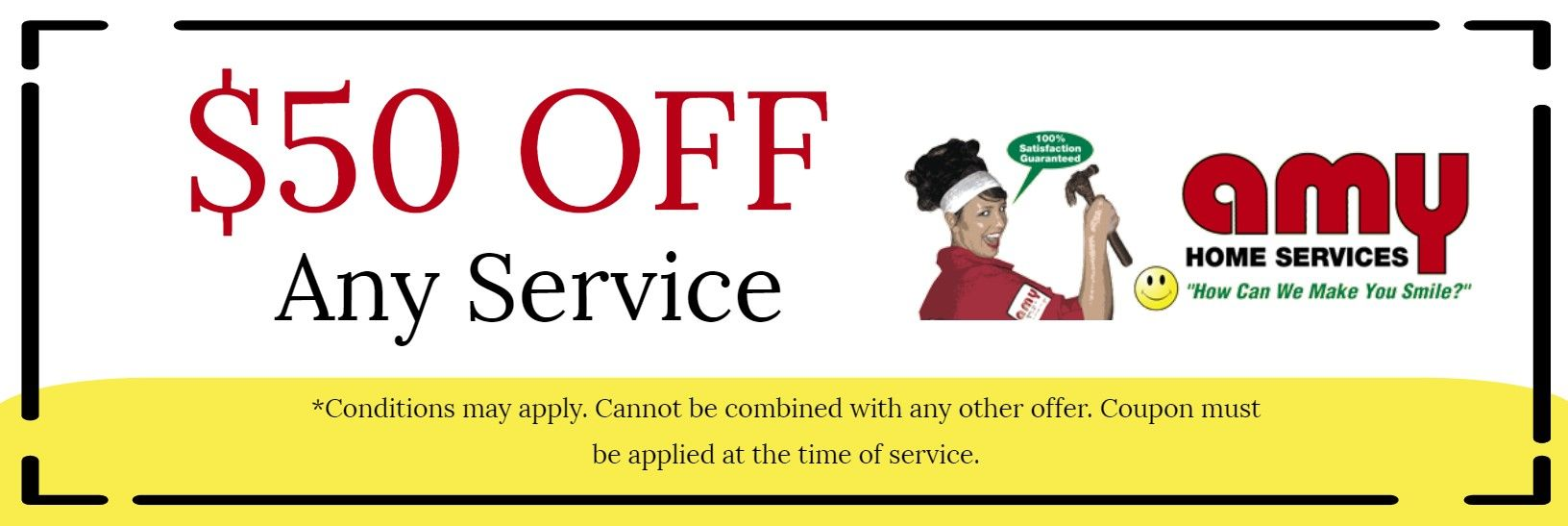 $50 Off Any Service